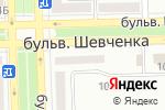 Схема проезда до компании Домэн, торговая компания в Донецке