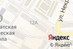 Схема проезда до компании Афина в Ясиноватой