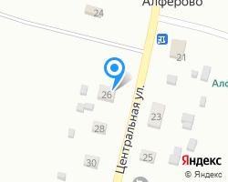 Схема местоположения почтового отделения 171581