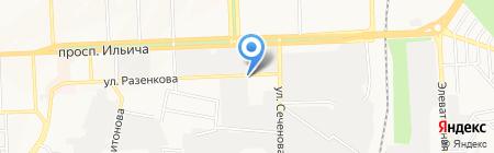Чайна Країна на карте Донецка