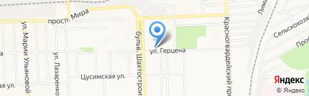 Ария на карте Донецка