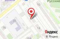 Схема проезда до компании Сияние звезд в Котельниках