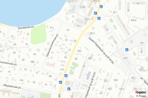 Ремонт телевизоров Улица Большая Косинская на яндекс карте