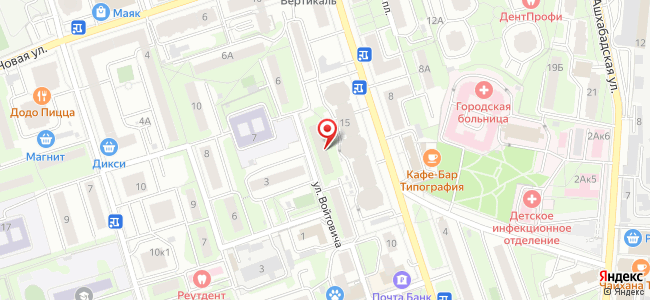 Реутов (Реутов городской округ, Московскаяобл.), Войтовича, 4