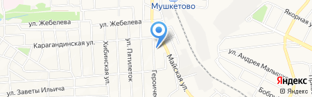 Донецкая общеобразовательная школа I-III ступеней №132 на карте Донецка