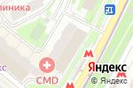 Схема проезда до компании CMD в Котельниках