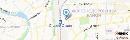 Банкомат Банк ВТБ 24 на карте Старого Оскола