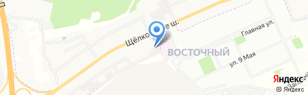 Агат-Мед на карте Москвы