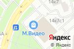 Схема проезда до компании Комфорт-оптика в Москве