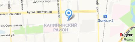 Детский сад №268 на карте Донецка
