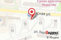 Схема проезда до компании Малышок в Дзержинском