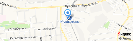 МебельУкрПром на карте Донецка