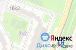Схема проезда до компании Магазин чулочно-носочных изделий в Котельниках