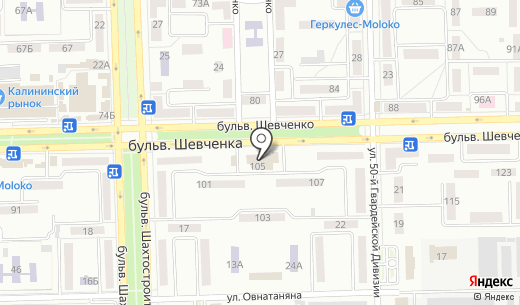 Киб групп. Схема проезда в Донецке