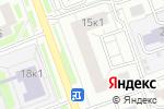 Схема проезда до компании Лидар в Москве
