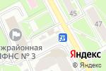Схема проезда до компании Магазин кондитерских изделий в Пушкино