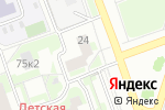 Схема проезда до компании Fitness star в Москве