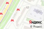 Схема проезда до компании АнтеннА+ в Котельниках