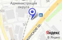 Схема проезда до компании ТАКСИ ПРЕСТИЖ-ЮВАО в Котельниках