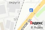 Схема проезда до компании ФОКС в Котельниках