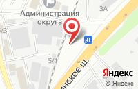 Схема проезда до компании РУТЕКС в Дзержинском