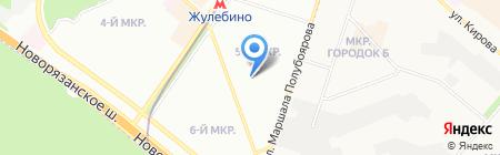 Средняя общеобразовательная школа №1905 с дошкольным отделением на карте Москвы
