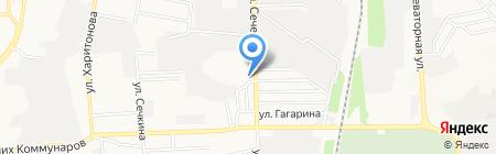 R & S на карте Донецка