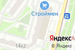 Схема проезда до компании Спортград в Котельниках