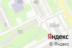 Схема проезда до компании Техмоссервис в Пушкино