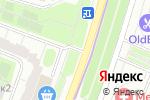Схема проезда до компании Киоск по продаже цветов в Котельниках