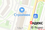 Схема проезда до компании Оптика в Котельниках