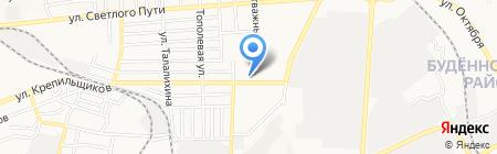 Броварня на карте Донецка