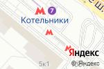 Схема проезда до компании Банкомат, ВТБ Банк Москвы, ПАО Банк ВТБ в Котельниках