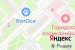 Схема проезда до компании Магазин одежды в Реутове