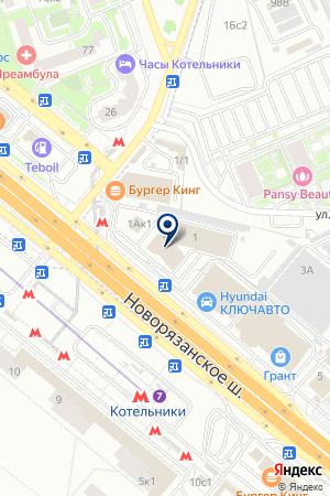 АВТОЦЕНТР ИНГО-МОБИЛЬ на карте Люберец