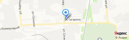 Премьер-Маркет на карте Донецка