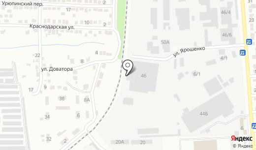 Керамик МИА. Схема проезда в Донецке