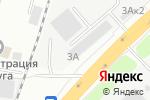 Схема проезда до компании РУПеревозки в Котельниках