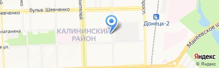 Донецкая специализированная общеобразовательная физико-математическая школа №35 на карте Донецка