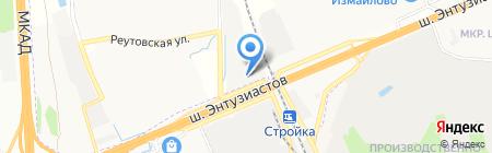 Автотерм на карте Балашихи