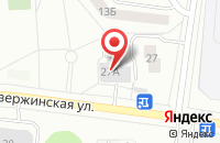 Схема проезда до компании Аксиомус в Дзержинском