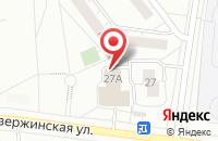 Схема проезда до компании LEGO в Дзержинском