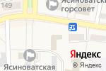 Схема проезда до компании Управление статистики в г. Ясиноватой в Ясиноватой