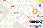 Схема проезда до компании Ивановский трикотаж в Котельниках