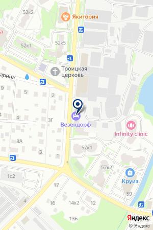 МАГАЗИН РЕШЕТКИ на карте Пушкино