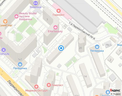Товарищество собственников жилья «Алмаз-2» на карте Люберец