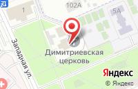 Схема проезда до компании Торговая компания в Азьмушкино