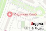 Схема проезда до компании Денталцентр в Котельниках