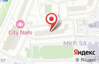 Схема проезда до компании Ай-Кью Медиа в Москве