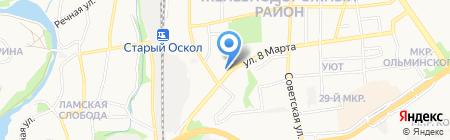 Транспортная компания на карте Старого Оскола